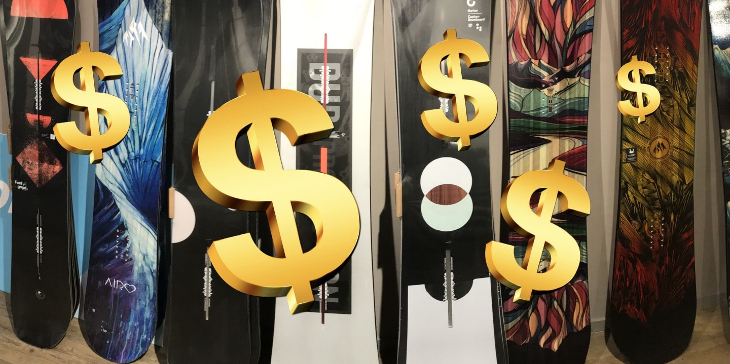 How much does a snowboard cost?